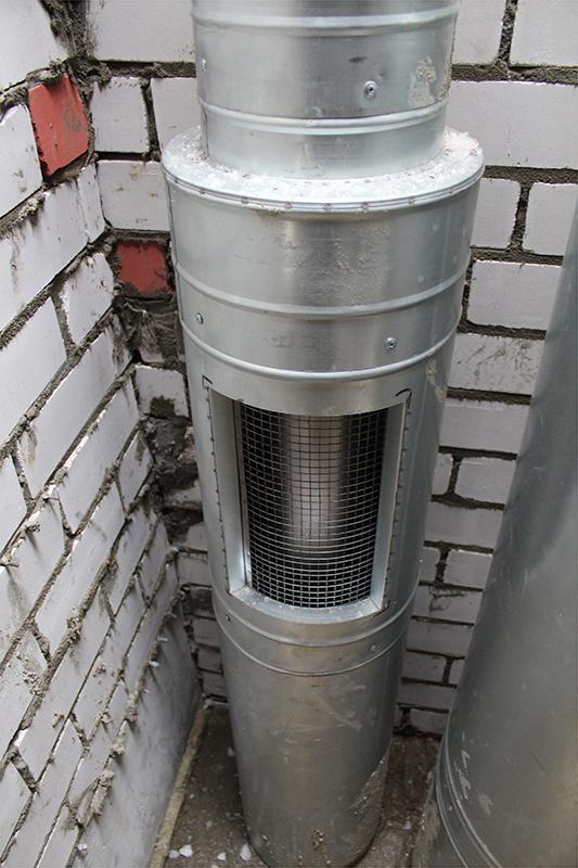 Дымоход утепленный оголовок нормы измерения дымохода